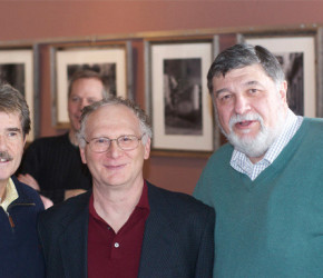 Cook County Clerk David Orr, Judge Jerry Esrig, & Cook County Commissioner Larry Suffredin